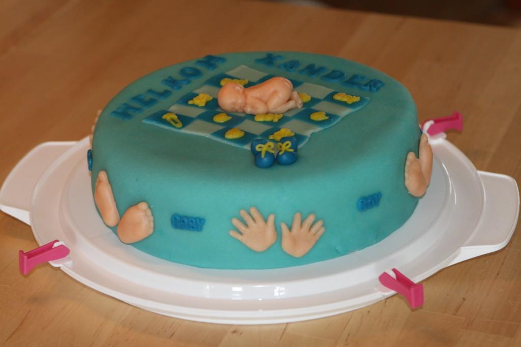 taart, gemaakt door Erika
